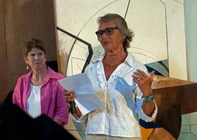 Mary Arnold ( à gauche) et Hélène Prost Dominioni