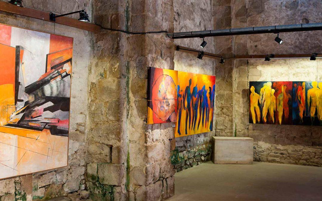 Exposition à Vouvant, village de peintre