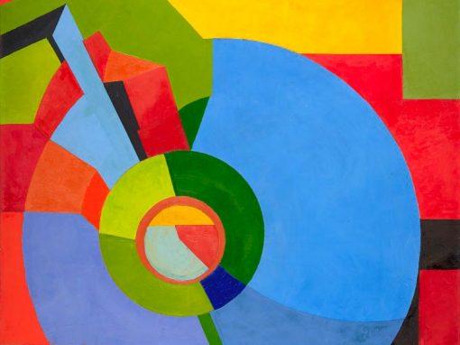 Art géométrique : les cercles, l'orphisme, les fractions