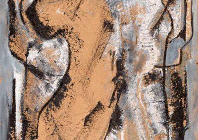 Acrylique et encre de chine – Hauteur x largeur: 100 x 75 cm – réf. 56JD17