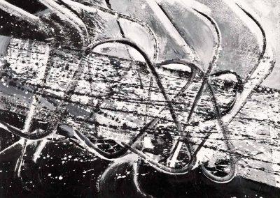 Acrylique – Hauteur x largeur: 60 x 55 cm – réf. 80JD17